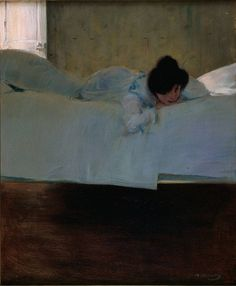 Ramon Casas, Pigrizia, 1898-99