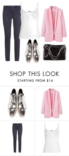 """""""hnnm"""" by v-askerova on Polyvore featuring мода, STELLA McCARTNEY, AG Adriano Goldschmied и Boohoo"""