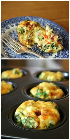 The Ultimate Breakfast Veggie Egg Muffins