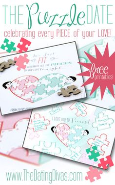 My hubby is going to LOVE this puzzle-themed date adventure! www.TheDatingDivas.com