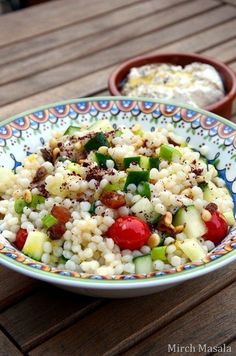 Lemony Couscous Salad | 24 Easy Healthy Lunches To Bring To Work In 2015