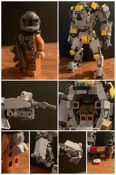 Heres my LEGO titan and pilot as promised. Sorry for not having more pictures of the titan! Lego Titanfall, Lego Mechs, Lego Bionicle, Lego Stormtrooper, Lego Robot, Lego Halo, Lego Transformers, Lego Custom Minifigures, Lego Pictures