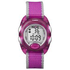 Timex IronKids Translucent Pink Watch Nylon Slip-Thru Strap Best Kids Watches, Cool Watches, Wrist Watches, Kids Triathlon, Fitness Watches For Women, Pink Watch, Sport Watches, Citizen Watches, Trendy Kids