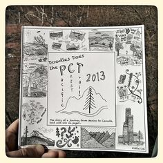 Doodles Does the PCT is easily one of the most creative trail journals that we've seen.