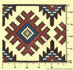 Chart for tapestry crochet. Mochila Crochet, Bag Crochet, Crochet Purses, Crochet Chart, Tapestry Crochet Patterns, Bead Loom Patterns, Cross Stitch Patterns, Knitting Charts, Knitting Patterns