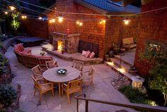 Faszinierende Beleuchtung im Garten - ein kleines Paradies im Freien