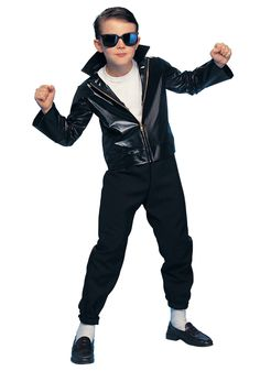 Boys Grease TBird Costumes