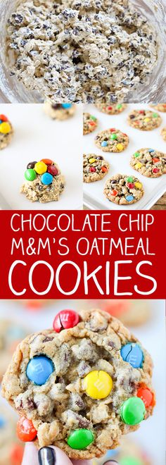 These Chocolate Chip and M&M'S Oatmeal Cookies have become one of my favorite recipes! They are so easy to make and absolutely delicious. These cookies are packed with mini chocolate chips, semi sweet chocolate chips and topped with crunchy colorful M&M'S candies. The secret to these delicious cookies is that they use shortening instead of …