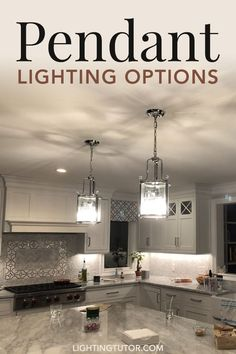 Pendant lights are likely going to be part of every home remodel, home decor, or home lighting project. This article will walk you through all of your options. Kitchen Lighting, How To Install Kitchen Island, Kitchen Lighting Fixtures, Home Improvement Projects, Trending Decor, Kitchen Lighting Design, Pendant Lighting, Traditional Lamp Shades, Interior Lighting
