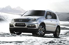 The New SsangYong Rexton W (2014)