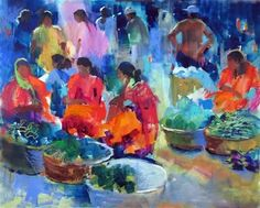soraya french paintings   Soraya French