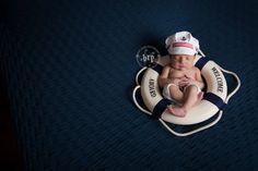 nautical, newborn, baby, pose, life preserver, hat, sailor