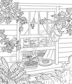 Sample Thanksgiving Watermarked Teeny Pheeny Colouring Page