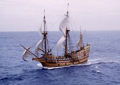 Winthrop Fleet ship that carried the Great Migration to the shores of what's now Massachusetts.