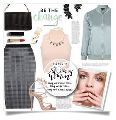 """""""Strong Women"""" by judysingley-polyvore ❤ liked on Polyvore featuring Alexander Wang, WearAll, BP., Dsquared2, Topshop, GINTA, Anja, Chanel, Cristabelle and DKNY"""