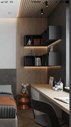 Bedroom Furniture Design, Modern Bedroom Design, Home Room Design, Master Bedroom Design, Office Interior Design, Home Decor Bedroom, House Window Design, House Design, India Home Decor