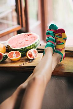 Watermelon Splash Low Socks | women socks | colorful socks | mismatched | mens…
