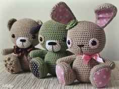 Amigurumi cuties – pattern