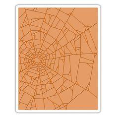 Sizzix Tim Holtz Alterations Cobwebs Texture Fades Embossing Folder