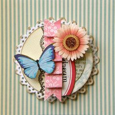 My Paper Passion: embellished paper doilies                                                                                                                                                                                 More