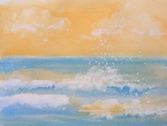 Who likes the beach??! - maybe I'll paint this for Janet.