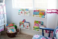 IKEA hacks for the playroom