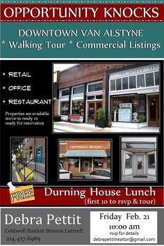 www.sellnorthtexas.com Van Alstyne, Tx. Historic homes. Commercial Homes. Ranches . Land  for sale Debra Pettit    214.437.6965 debrapettitrealtor@gmail.com #North Texas