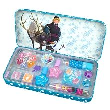 The Ready, Set, Snow Make Up Tin is perfect for dressing up like your favourite characters from Disney Frozen and preparing for a whirlwind adventure! Ana Frozen, Frozen Disney, How To Make Snow, Make Up, Your Favorite, Tin, Lunch Box, Presents, Dressing