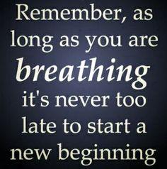 I am still breathing!