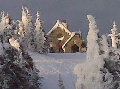 vista house @ Mt. Spokane