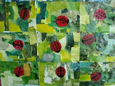 IMGP2573 Spring Art, Spring Crafts, Diy And Crafts, Crafts For Kids, Arts And Crafts, Ladybug Crafts, Artist Project, Art Lessons Elementary, Eric Carle