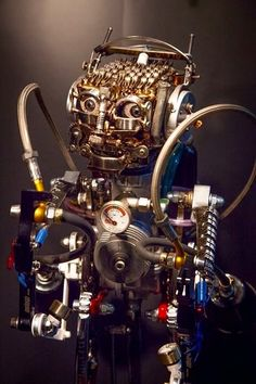 Jet man by ferrerini mechanical art