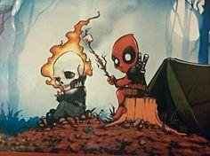 Ghost rider Deadpool
