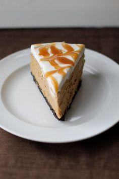 No Bake Desserts, Just Desserts, Delicious Desserts, Dessert Recipes, Yummy Food, Appetizer Recipes, Cappuccino Cheesecake Recipe, Cheesecake Recipes, Caramel Cheesecake