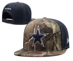 Men s Dallas Cowboys Mid   Rear Panels RealTree Camo NFL Team Logo Snapback  Hat - Camo   Navy 785a102c2