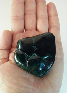 "Polished Malachite Crystal Stone Specimen 141.7g 2.25"" (MAL2)"