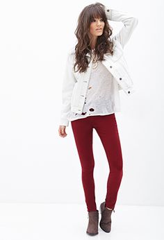 Mid-Rise - Skinny Jeans   FOREVER21 - 2055879388  $14.80