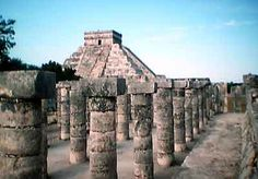 Chichen Itza Mayan Ruins, Progreso, Mexico    Google Image Result for http://www.cancunsouth.com/photos/ruins/columns.jpg