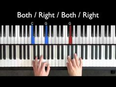 Easy Blues Piano Lessons - Bluesy 4ths Riff (Part 2)