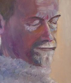 Dad Oil on canvas