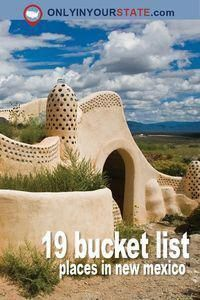 Travel | New Mexico | Attractions | Activities | Sites | Explore | Local Finds | Bucket List | Things To Do #traveltips