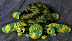 Amigurumi turtles