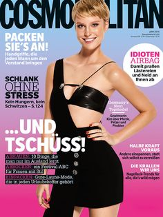Das neue COSMO-Cover ist da - mit GNTM-Gewinnerin Kim!
