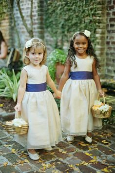 Tara Guerard Soiree by Liz Banfield Adorable flower girls