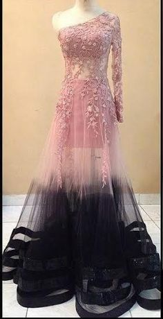 Designer Pink & Black Indo Western Gown, wedding collection, gown collection, online shopping, designer collection, special offer