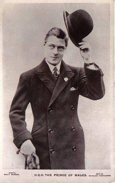 Edward The Prince of Wales Eduardo Viii, Edward Windsor, Reine Victoria, Wallis Simpson, Her Majesty The Queen, English Royalty, British Monarchy, Roaring Twenties, Prince Of Wales