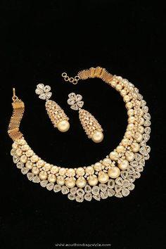 http://rubies.work/0530-sapphire-ring/ Diamond Necklace Designs from Tibarumals Jewellers