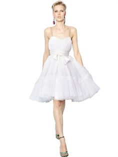 LANVIN - SILK TULLE DRESS