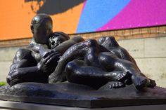 https://flic.kr/p/MHswz4 | Love Sculpture | Metal sculpture outside the Museum
