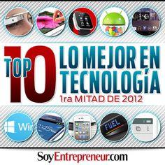 Te compartimos un ranking con los mejores gadgets, sistemas operativos e innovaciones en TI presentados o lanzados durante el primer semestre de 2012.